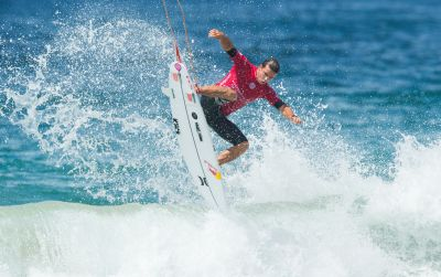 TOP SEEDS FLAIR UP AT MANLY FOR AUSTRALIAN OPEN OF SURFING