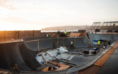 SKATE & BMX PARK IS COMING IN HOT!